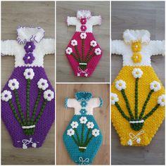 Poşetlik modeli Moda Emo, Baby Knitting Patterns, Elsa, Crochet Earrings, Christmas Ornaments, Holiday Decor, Handmade, Stuff To Buy, Jewelry