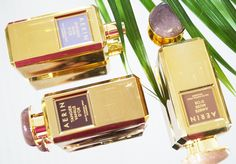 You should definitely know about the golden collection of the perfumes D'Or by Aerin Lauder. All three perfumes from the D'Or collection are beautifully fragrant.The golden bottles are wonderful to look at and pleasant to touch. Try this something special.  #SheIsTheOne #FashionBlogger #Blogger Aerin Lauder, Perfume Collection, Switzerland, Bottles, Touch, Ads, Beauty, Photography, Fashion