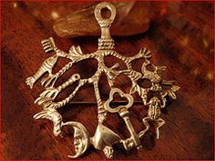 Strega Amulet | ... amulet strega talisman silversmith vervain peruzzi coppini stregha