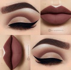wow, dieser Make Up Look haut uns aus den Socken! ein toller Eyeliner mit dunkle wow, this make-up look makes us lose our socks! a great eyeliner with dark … – Cute Makeup, Gorgeous Makeup, Pretty Makeup, Flawless Makeup, Makeup Goals, Makeup Inspo, Makeup Pics, Prom Makeup, Skin Makeup