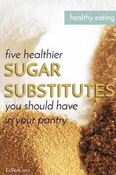 5 Tips for Replacing Sugar when Baking 5 healthier sugar alternatives, plus tips for using them to replace refined sugars when baking Sugar Free Desserts, Sugar Free Recipes, Coconut Sugar Recipes, Date Sugar Recipes, Sugar Free Cupcakes, Sugar Substitutes For Baking, Baking Substitutions, Low Calorie Recipes, Healthy Recipes