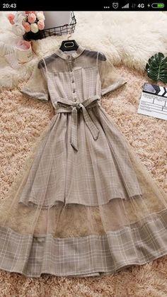 Girls Fashion Clothes, Teen Fashion Outfits, Mode Outfits, Girl Fashion, Girl Outfits, Fashion Dresses, Trendy Fashion, Style Fashion, Korean Fashion