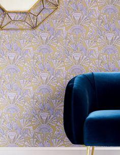 Tiberia | Papier peint floral | Motifs du papier peint | Papier peint des années 70