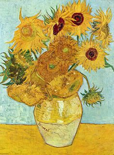 The sunflowers - Van Gogh