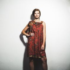 Summer silk dress by HuciDesign :) Reminds me of summer