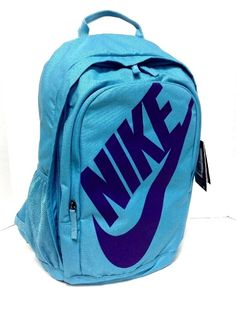 3c28e002d1 New NIKE Hayward Backpack Athletic Sports Cheer Book Computer Bag  Turquoise… Computer Bags