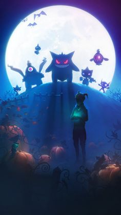 Pokemon GO Halloween 2017 Loading Screen
