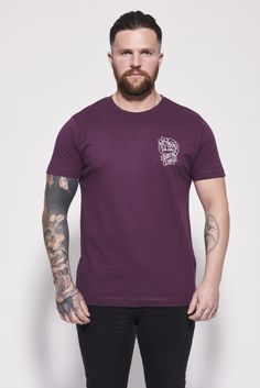 Don't Be A Prick T-Shirt Aubergine