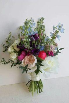 Jane Austen style wedding bouquet