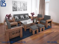 Discover Ideas About Sofa Furniture. Wood Living Room ...