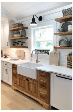 Galley Kitchen Remodel, Kitchen Redo, Home Decor Kitchen, Kitchen Styling, New Kitchen, Home Kitchens, Kitchen Ideas, Remodeled Kitchens, Galley Kitchen Design