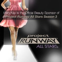 Makeup and fashion go hand-in-hand, which is why we're excited to announce that Mary Kay is the official beauty sponsor of the upcoming season of Project Runway All Stars! #PRAllStars