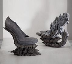 Shoe Art - exquisite footwear design inspired by nature