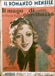 IL MAGO DI GIOVINEZZA di Marcel Roland 1933 Corriere della Sera ROMANZO MENSILE