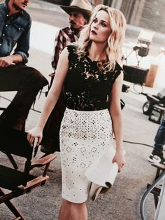 oscarprgirl:  you're boring me. Reese Witherspoon in Oscar from Instyle.