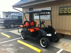 This just in e z go rxv cart with new batteries this cart has this is a 48 volt 2009 e z go rxv with new batteries custom seats rear flip seat lights and 14 lo profile wheels this cart will fly payments sciox Images