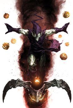 Green Goblin by naratani.deviantart.com