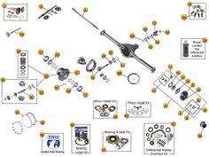 Transmission Borg-Warner SR4 Exploded View Diagram The ...
