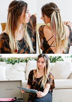 Braided Knot Festival Hair Tutorial | Free People Blog #freepeople