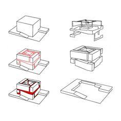 Solid / Void Relationship Organizes Tsinghua Law Library / Kokaistudios - eVolo | Architecture Magazine