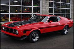 1973 Ford Mustang Mach 1 351 CI, 4-Speed | Mecum Auctions