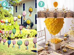 San Diego Style Weddings: Style Inspiration: Hot Air Balloons
