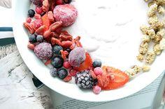 clean eating gesunde smoothie bowl snack blog