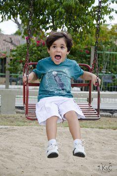 Ensaio Infantil.