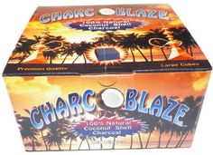 #Charcoblaze is a premium coconut hookah charcoal. It's tasteless and odorless for a great smoking experience. Contains 1.5X more coal than typical brands.