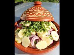 Recette de Tajine de poulet et Artichauts طجين الدجاج/Tagine of chicken and Artichoks - YouTube