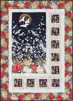 Love this Crane Quilt in Red...!!!!