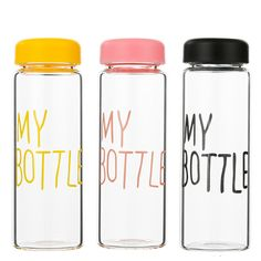 96b91b68a8 500ML Portable Plastic Water Bottles Transparent Juice Tea Coffee Kettle  Drinkware Sports Cycling Camping Water Bottle D3-in Water Bottles from Home  ...