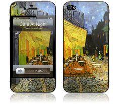 Vincent van Gogh - Cafe at Night - iPhone 4S, 4 | GelaSkins