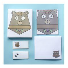 Palette - Kit Cartas - Cada caja incluye 20 notas, 10 sobres y 40 stickers.