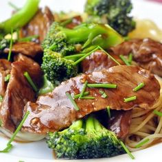 The Best Beef and Broccoli - who wouldn't love a great quick and easy recipe for this classic stir fried dish? A terrific workday dinner!