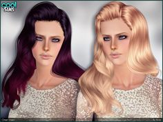 Glamourous hair for your ladies!  Found in TSR Category 'Female Sims 3 Hairstyles'