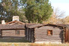 Partial view of portion of restored Ft. Caspar in Casper, Wyoming Casper Wyoming, Arkansas, Restoration, Beautiful Places, Childhood, House Styles, Travel, Life, Infancy