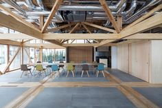 Removable walls offer endless layouts for Aki Hamada's community space