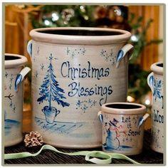 Christmas Crock ♥