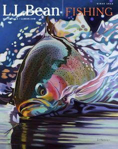Our latest Fishing catalog cover artist is a woman who follows her heart, with a passion for painting, motorcycles and fly fishing. Meet A.D. Maddox on our blog: http://bit.ly/LLB_Blog_AD_Maddox