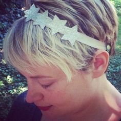 4th of July DIY | Sparkly Star Headband - henry happened | henry happened