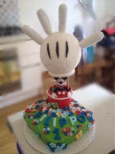 Torta topolino per un primo compleanno!