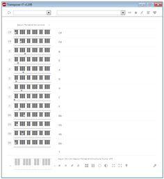Transpose-it v1.0 screenshots