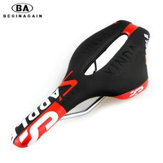 BEGINAGAIN Cycling Saddles Hollow Design Soft Silicone Material Bicycle Seat Suitable Long-distance MTB Waterproof PU leather