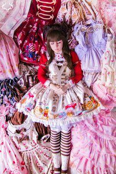angelic pretty sweet lolita lolita fashion burando