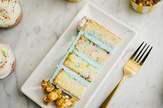 Constellation Inspiration: Carnival-Themed Funfetti Cake with Vanilla Buttercream