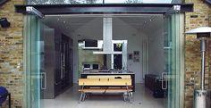 Folding doors series 100 Teufelbeschlag GmbH