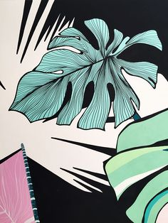 """Monstera Love"" 