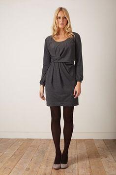 Isabelle Jersey Twist Front Dress - Dresses - Great Plains