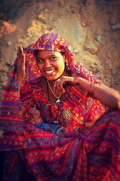 Beautiful smile from #India #TravelIndia